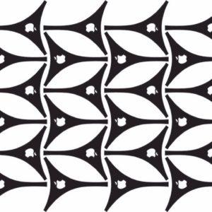 Biquine de Adesivo p/ Bronzeamento – Cartela Maçã parte de trás