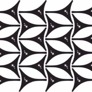 Biquine de Adesivo p/ Bronzeamento – Cartela Estrelas parte de Trás