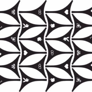 Biquine de Adesivo p/ Bronzeamento – Cartela Desenhos Mistos parte de trás