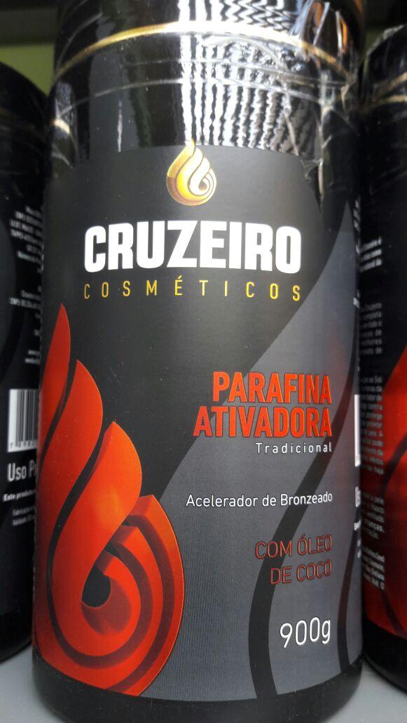 Parafina Ativadora Tradicional - Cruzeiro - Bronzeamento Natural 5b7d7003a0527