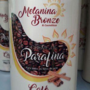 Creme de Parafina Café com Canela – Melanina Bronze