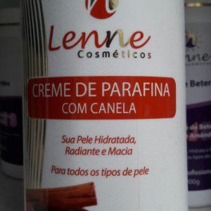 Creme de Parafina com Canela- Lenne Cosmeticos 900g