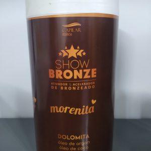 Show Bronze Ativador Morenita – Capilar Essência 900g