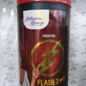 Creme de Parafina Flash 3 em 1- Melanina bronze 930g