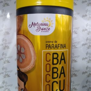 Creme de Parafina Coco Babaçu- Melanina bronze 1k