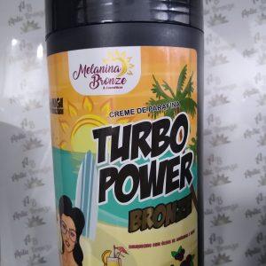 Creme de Parafina Turbo Power Bronze- Melanina bronze 930g