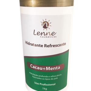Hidratante Refrescante Cacau+Menta- Lenne Cosmeticos 1k
