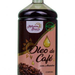Óleo Corporal de Café com Amêndoas – Melanina Bronze 1 Litro