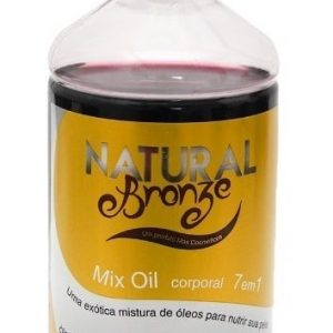 Mix Oil Corporal 7 em 1- Natural Bronze 1 Litro