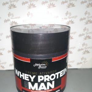 Creme Ativador Wey Protein For Man – Melanina Bronze 500g