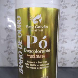 Pó Descolorante Com Dolamita Banho de Ouro- Paty Galvão 500g