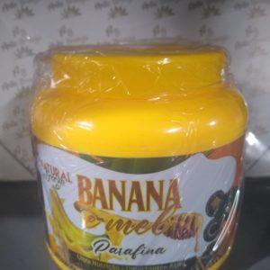 Parafina Banana e Mel   – Max Cosmeticos 950g