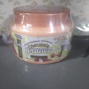 Mousse Fixador de Marquinha Chocolate Branco – Max Cosmeticos 500g