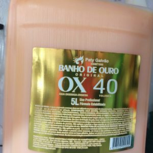 Ox 5 litros banho de ouro- paty galvao